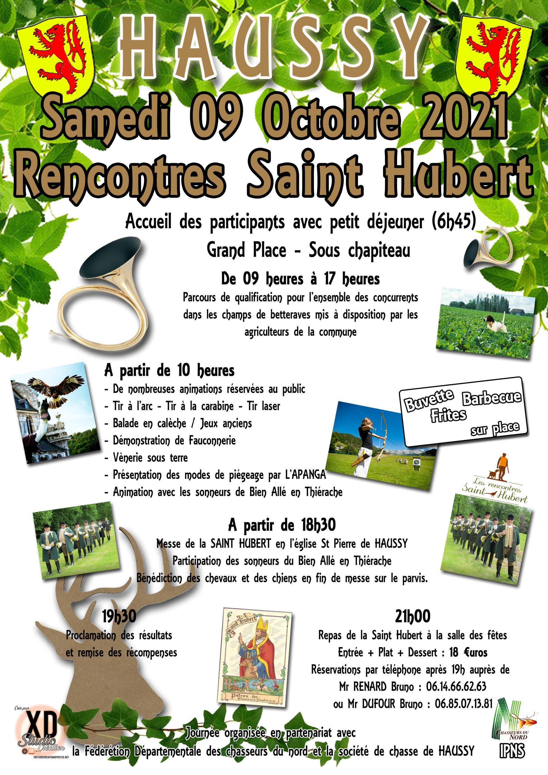 Rencontres Saint Hubert ANNULEES