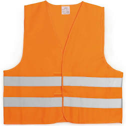 gilet fluo orange